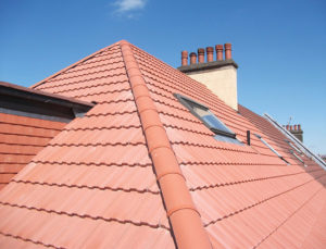 finished roof after repair in Nottinghamshire