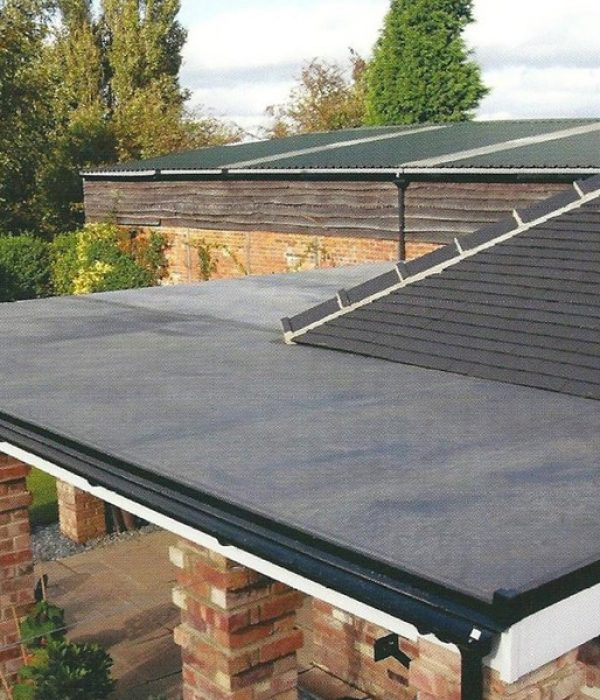 flat roof replaced in Nottinghamshire