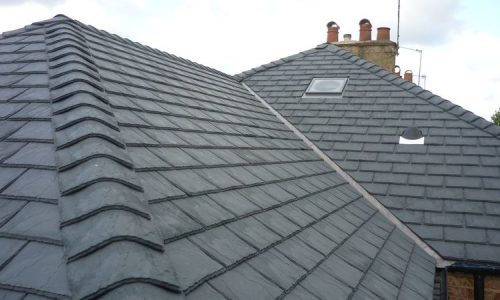 new slate roof The Park