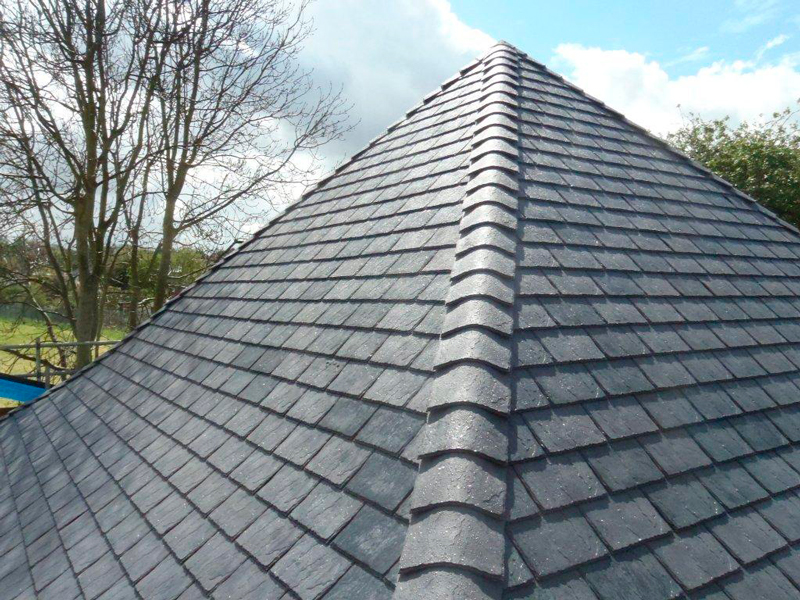 roof repair finished in The Park