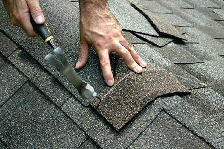 roofing repair on a roof in Nottingham