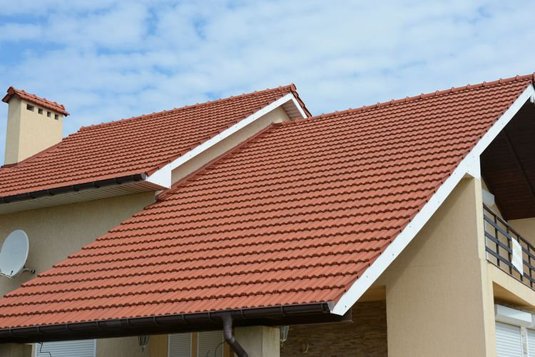 example new tiled roof